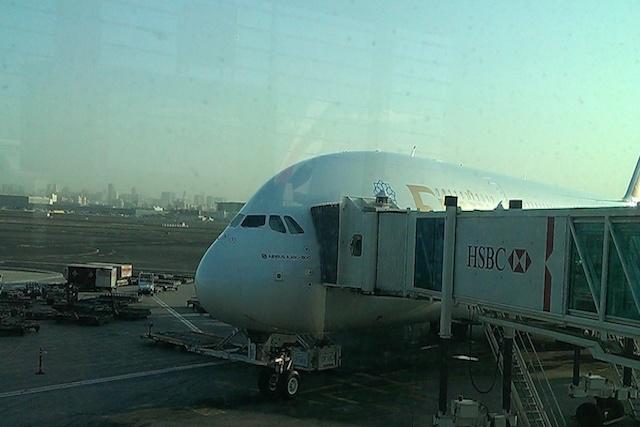Flughafen Dubai A380