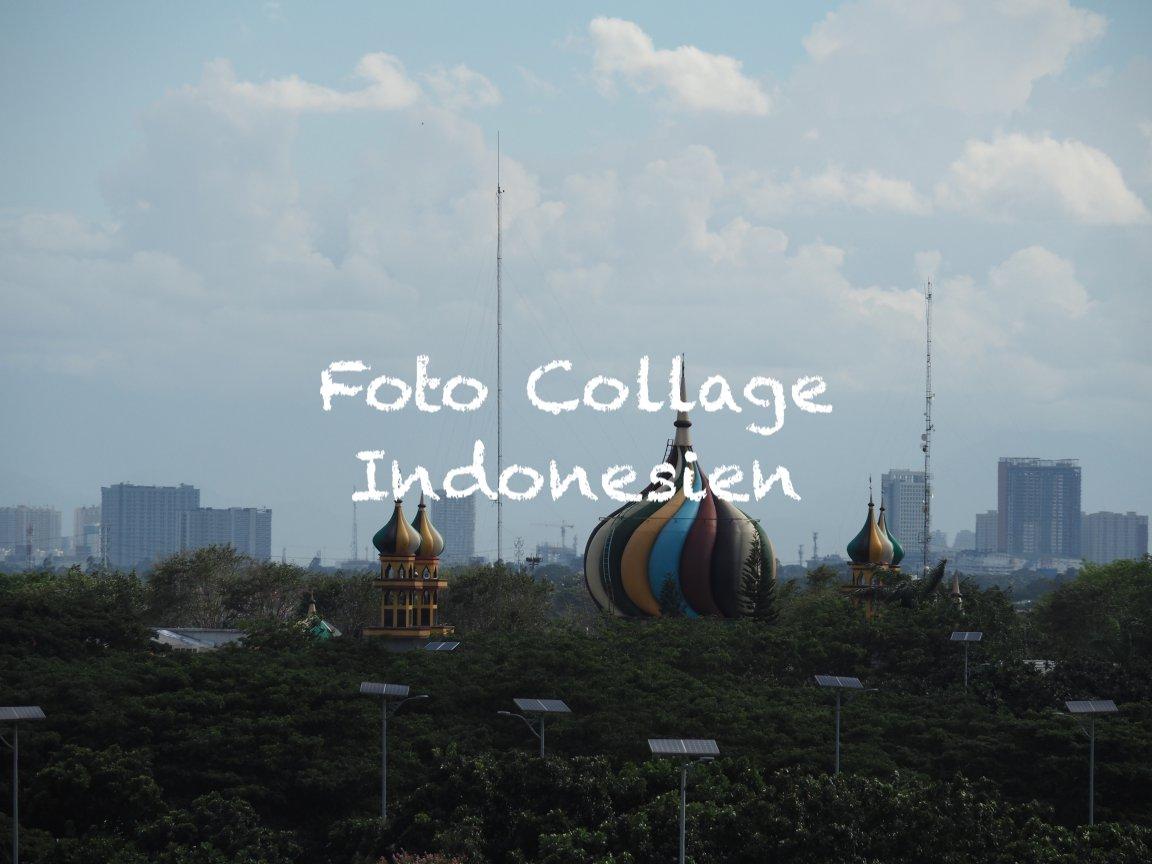 Foto Collage indonesien